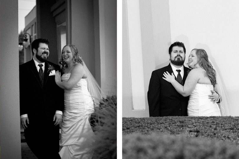 wedding photographer black and white intimate pictures