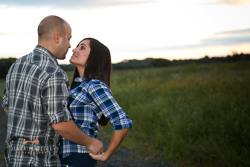neshanic station nj engagement session Bridge NJ Engagement Cowboy Stonework Motorcycle (2)