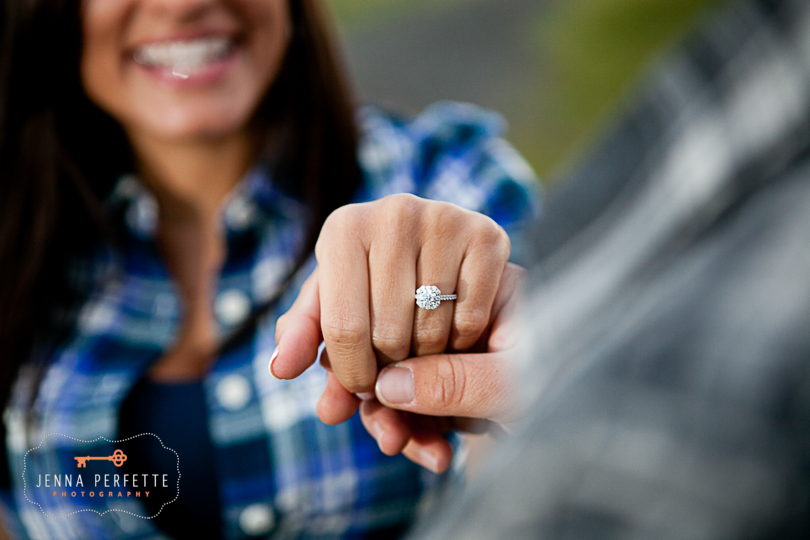 neshanic station nj engagement session Bridge NJ Engagement Cowboy Stonework Motorcycle (1)