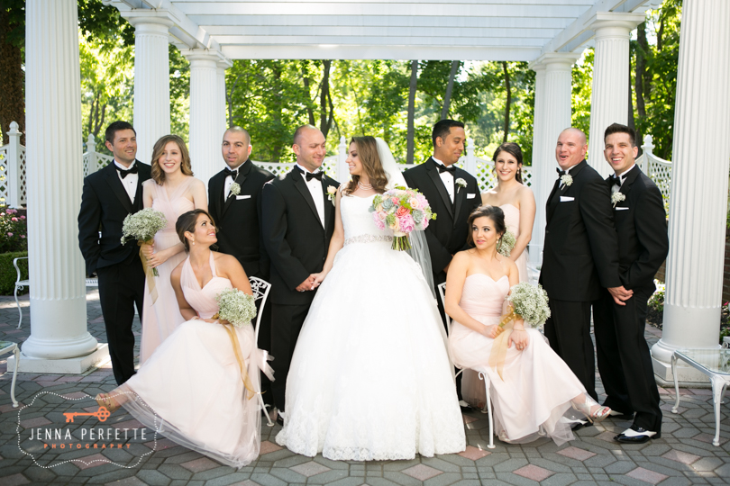 Lambs and wolves salon red bank nj carousel of flowers somerville nj outdoor garden ceremony mansion home wedding police wedding law enforcement wedding